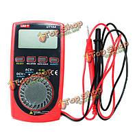 UNI-T UT10А цифровой ЖК-дисплей карманного размера ладони автоматический диапазон мультиметра AC DC вольта Ом емкость хз тестер
