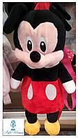 Детский плюшевый рюкзак Микки Маус 45см