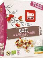 Lima Мюслі з ягодами годжі (без глютену) 300 г