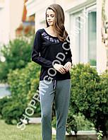 Женская пижама Mel Bee (Sahinler) MBP 23009, костюм домашний с брюками