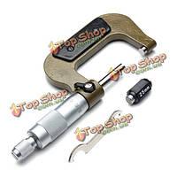 Шахэ 25-50мм 0.01 мм отделяя зажим винтовой микрометр