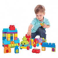 """Конструктор Mega Bloks DBL08 Поезд """"Учимся считать"""", серия First Builders, фото 1"""