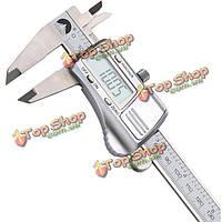 0-150мм/0.01 цифровой суппорты электронный нониусные микрометра калибровочных измерительный инструмент из нержавеющей стали