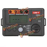 UNI-T UT501a 1000В Измеритель сопротивления изоляции заземления тестер мегомметра вольтметр с ЖК-подсветкой