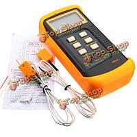 6802ii цифровой водонепроницаемый термометр K-типа измеритель температуры тестер