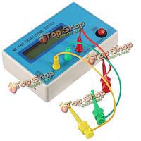 МК-168 транзистор тестером диод триод СОЭ измеритель rlc измеритель LCR Тип NPN PNP с МОП