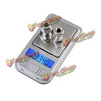 Весы цифровые карманные 0.01-200г ЖК-дисплей