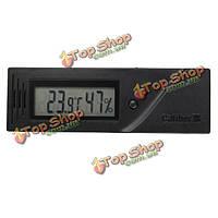 Квадратный регулируемый термометр гигрометр температуры и влажности сигары