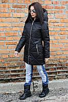 Куртка-парка женская Полина черный