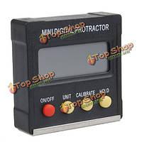 Dj-115 360degree Mini-цифровой транспортир инклинометр фаской ящик уровне инструмент