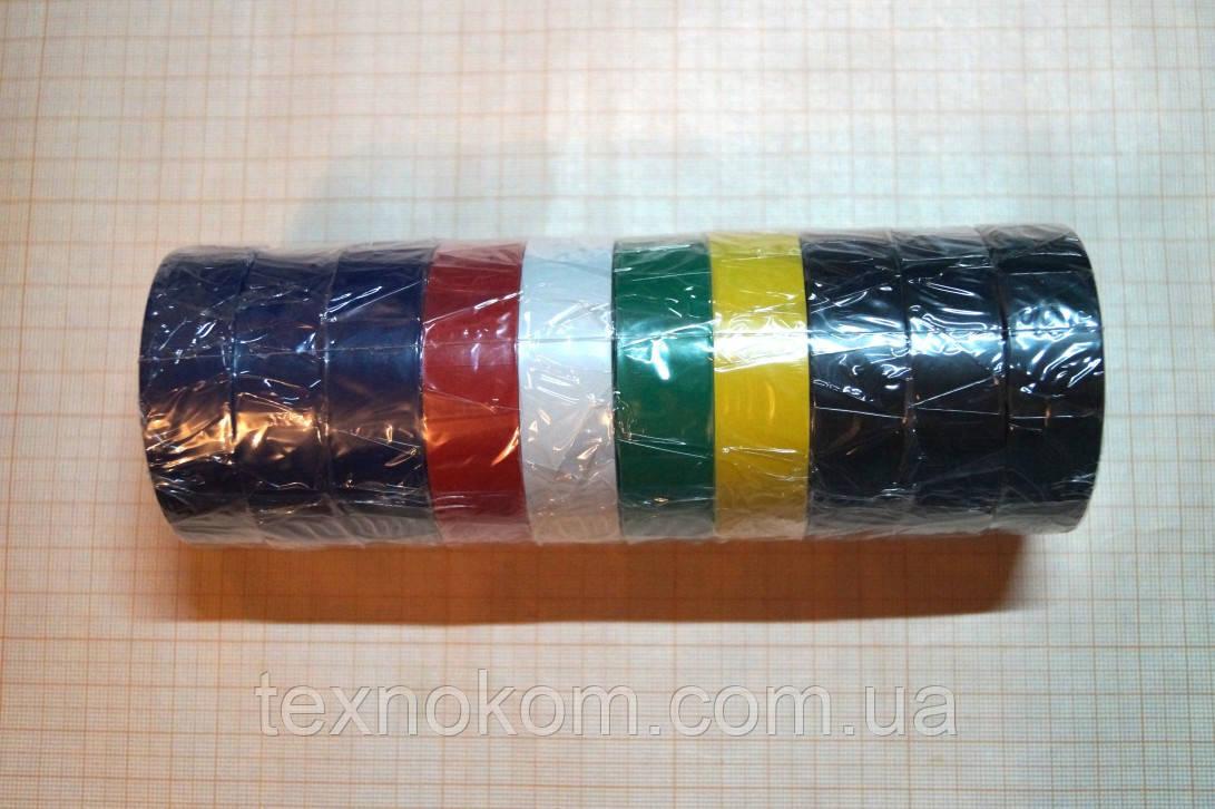 Набор цветной изоленты 0.13x17x11m Super Master+