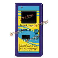 Цветной дисплей многофункциональный тестер транзистор диод тиристорный емкость резистора индуктивность ESR MOSFET LCR метр TFT 5 \u0026 Омега; -50