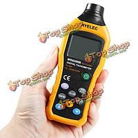 Hyelec ms6208b бесконтактный Дисплей LCD  цифровой тахометр спидометр поток воздуха тест метр
