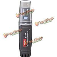 UNI-T UT330А Mini температура USB записи регистратор данных метр высокоточный термометр для подключения к ПК