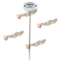 ЖК-цифровой термометр для мяса барбекю лаборатория глубокой обжарить торт еды конфеты варенье -50 ℃ - 300 ℃