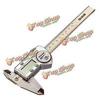 0-150мм 6-дюймов ip54 водонепроницаемый цифровой штангенциркуль измерительный инструмент