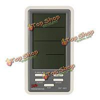 ДК-803 цифровой ЖК-дисплей крытый термометр гигрометр часы измеритель влажности