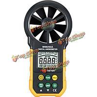 Многофункциональный объем воздуха анемометр скорость воздуха тахометр ветер цифровой тестер MS6252A peakmeter