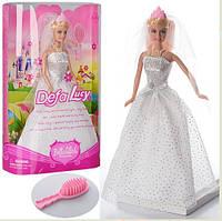 Кукла типа Барби Defa Lucy невеста 6091