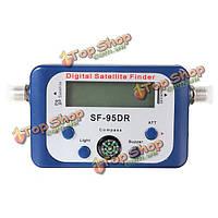 СФ-95dr цифровой спутниковый сигнал Finder метр сетевой компании directv