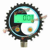 0-10bar/0-145psi g1/4 батарейках тестер давления цифровой манометр