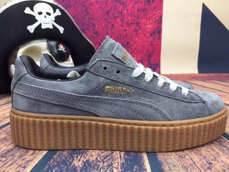 ... Кроссовки мужские Puma Rihanna Suede Creeper NR-PMM-531 (Реплика)  sneaker review ... c090a2909a4d0