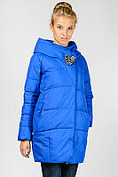 Зимняя удлиненная куртка на холлофайбере Angel Bestow
