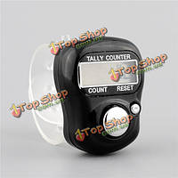 5-значный цифровой регулируемый электронный подсчет кольцевой счетчик для игры в гольф мультиколор спортивные док