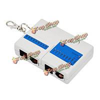 Сетевой сетевой кабель кабельный тестер телефонная линия RJ45 RJ11 многофункциональный