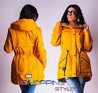 Молодежная куртка парка р-р 48-50 утеплитель синтепон