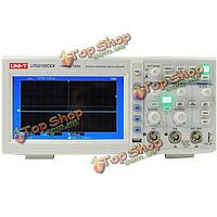 UNI-T UTd2102cex цифровой 2 канала 1G 100МГц 7-дюймов TFT хранение LCD  Осциллограф