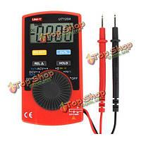 UNI-T UT120А супер тонкий измерительный прибор карманный портативный цифровой мультиметр постоянного/переменного тока частоты напряжение со