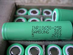 Высокотоковый аккумулятор Samsung INR18650-25R 2500mАh