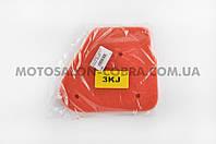 Элемент воздушного фильтра   Yamaha JOG 3KJ   (поролон с пропиткой)   (красный)