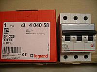 Legrand Автомат. выключатель TXC25А-3Полюса 6 кА