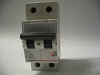 Legrand Автомат. выключатель TXC20А-2Полюса 6 кА