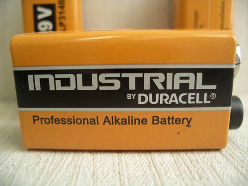 Duracell Industrial 9V Alkaline Batteries MN1604