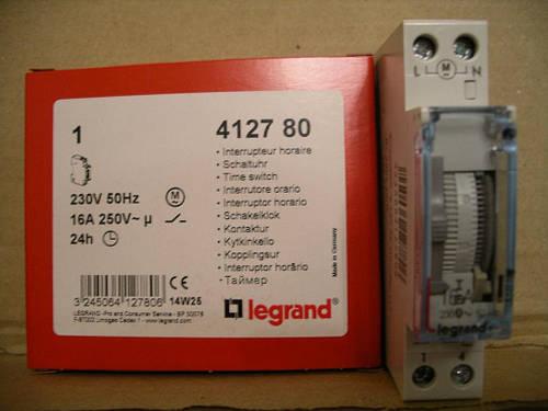 Legrand суточный таймер-аналоговый 1 Н.О.-16А,230В