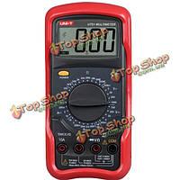UNI-T UT51 цифровой мультиметр сопротивления Измерение постоянного/переменного тока Вольтметр Амперметр омметра тестер