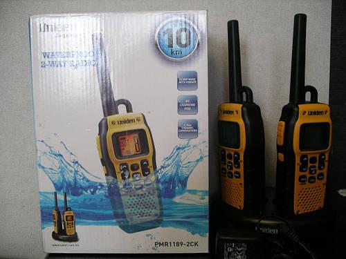 Рация Uniden PMR1189-2CK влагозащитная прием 10км.