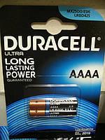 Duracell AAAA, LR8, MX2500 батарейка alkaline, 2шт