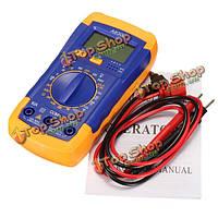 A830l цифровой ЖК-мультиметр Вольтметр Амперметр Ом переменного тока постоянного тока цепи вольт тестер Checker