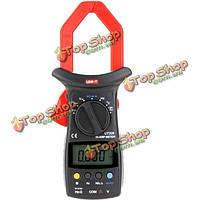 UNI-T UT206 цифровые 3999 кол авто диапазон Dмм зажим мультиметры с испытательной температуры измеритель иммитанса