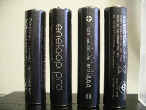 Panasonic Eneloop Pro900mah,аккумулятор AАА,4штуки
