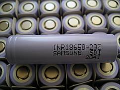 Аккумулятор Samsung INR18650-29E 2900mА,Li-ion3,7в