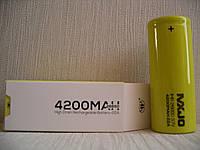MXJO IMR26650F 4200mAh 22A 3.7V Высокотоковый аккумулятор