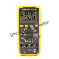 Victor 1000В сопротивление емкости индуктивности тестер цифровой мультиметр 20А vc9805a + профессионал