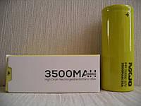 MXJO IMR26650F 3500mAh 35A 3.7V Высокотоковый аккумулятор