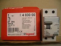 Legrand Выкл.дифф.тока ВДТ TX AC25А,2Полюса,30 мА