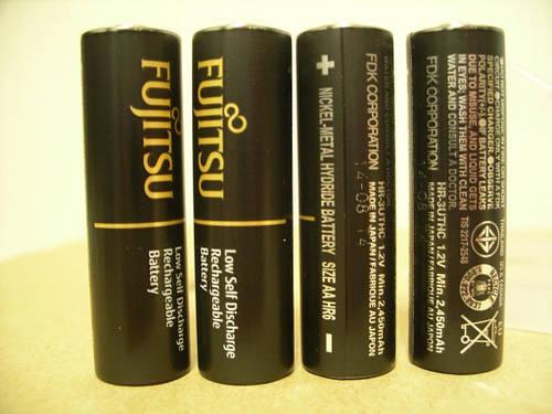 Аккумулятор Fujitsu(Eneloop) AA 2550mAh 4шт+кейс